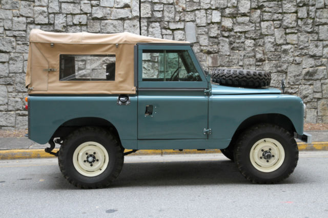 Land Rover Marin >> Seller Of Classic Cars 1962 Land Rover Series Ii Marine Blue Black