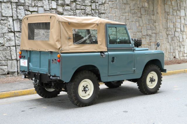 seller of classic cars 1962 land rover series ii marine. Black Bedroom Furniture Sets. Home Design Ideas