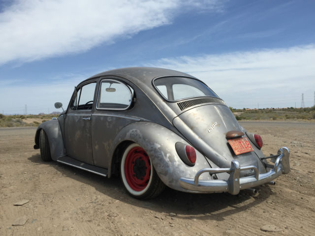 Seller of Classic Cars - 1966 Volkswagen Beetle - Classic (Bare Metal/Red/Black)