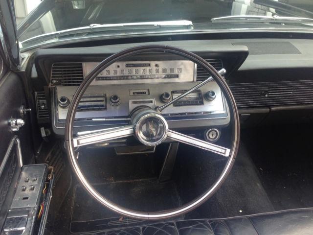 seller of classic cars 1966 lincoln continental black black. Black Bedroom Furniture Sets. Home Design Ideas