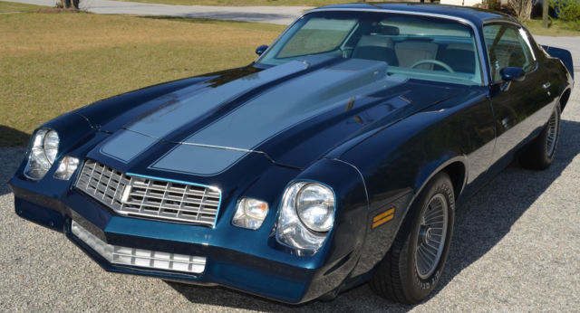 Seller of Classic Cars - 1979 Chevrolet Camaro (blue/black ...