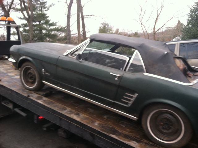 1966 Ford Mustang (Green/Black)