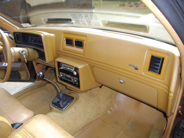 seller of classic cars 1979 chevrolet el camino metallic light brown saddle tan. Black Bedroom Furniture Sets. Home Design Ideas