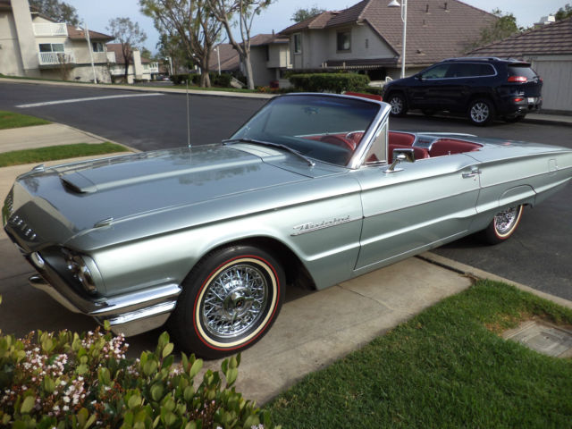 Seller Of Classic Cars 1964 Ford Thunderbird Siver Mink