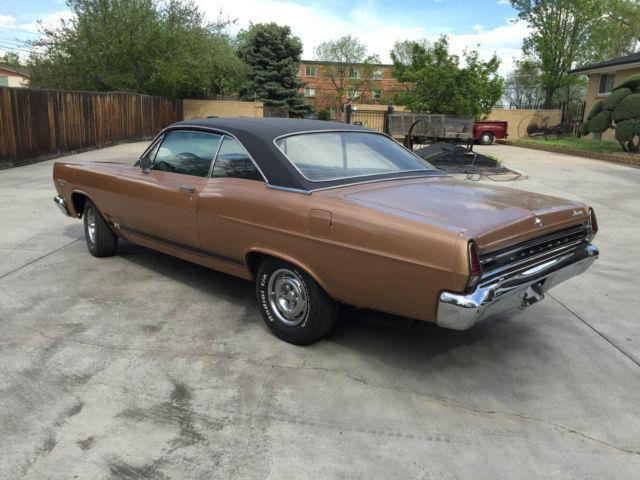 Seller Of Classic Cars 1967 Mercury Comet Gold Black