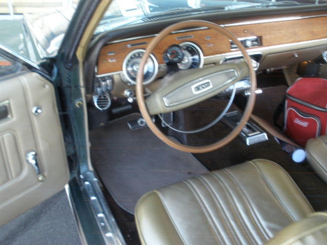 Seller of Classic Cars - 1968 Mercury Cougar (Tan/Green)