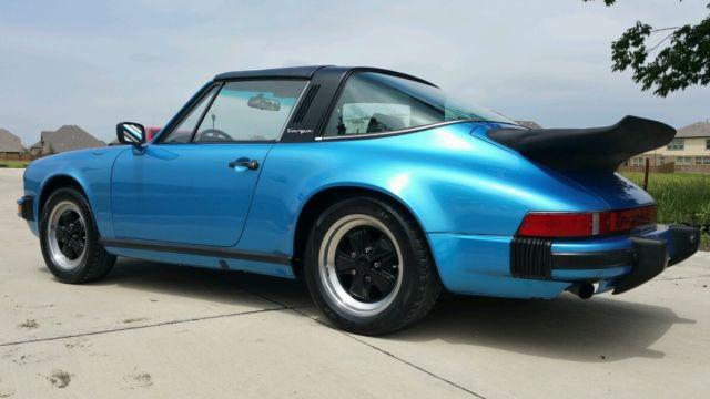 seller of classic cars 1978 porsche 911 green blue. Black Bedroom Furniture Sets. Home Design Ideas