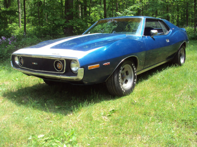 1972 AMC AMX (Blue/Blue)