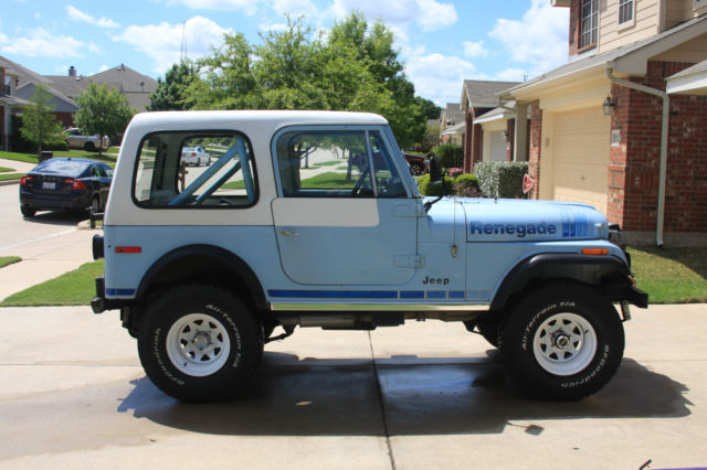 Seller Of Classic Cars 1979 Jeep Cj Wedgewood Blue