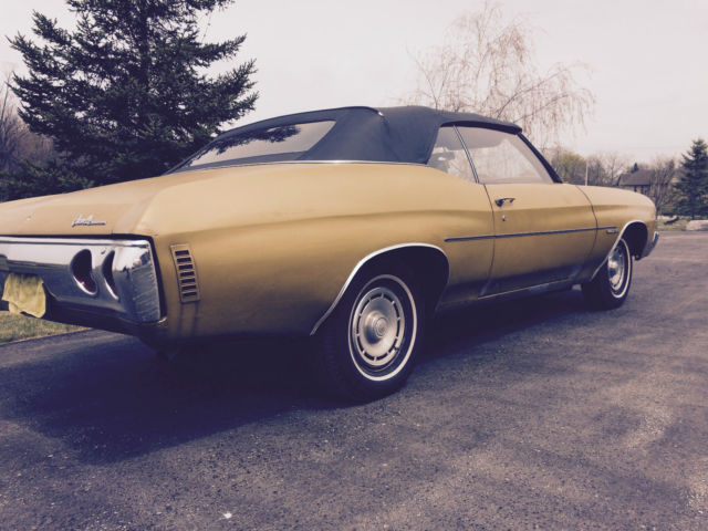 Seller of classic cars 1971 chevrolet chevelle gold for Placer motors used cars