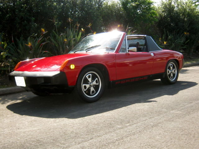 Seller of Clic Cars - 1975 Porsche 914 (Red/Black/Red Plaid) on red porsche 911 carrera 4s, red porsche 968, red porsche turbo, red fiat x1/9, red sunbeam alpine, red porsche 928, red porsche targa, red porsche 991, red porsche 911 gt3, red porsche cayman, red porsche panamera, red mclaren 12c, red bugatti eb110, red porsche 356, red porsche cayenne, red porsche gt3 rs, red ferrari 288 gto, red porsche 550, red porsche 911 carrera cabriolet, red porsche 944,