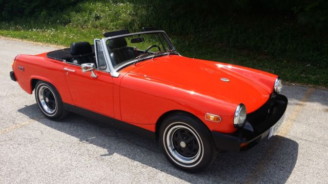 1978 MG Midget (Orange/Black)