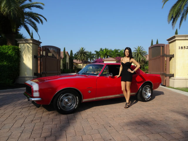 Seller of Classic Cars - 1967 Chevrolet Camaro (Red/Black)