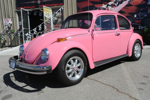 1977 Volkswagen Beetle Clic Pink Black