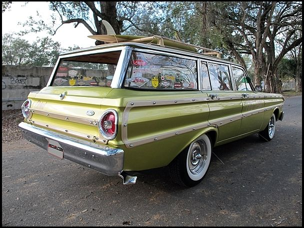 Seller Of Classic Cars 1964 Ford Falcon Green Tan