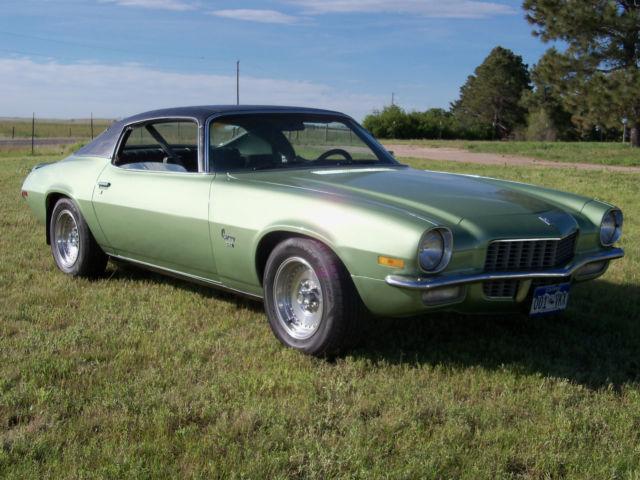 Seller Of Classic Cars 1970 Chevrolet Camaro Green Mist