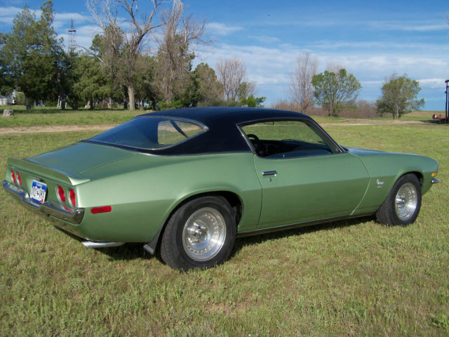 Seller Of Classic Cars 1970 Chevrolet Camaro Green Mist