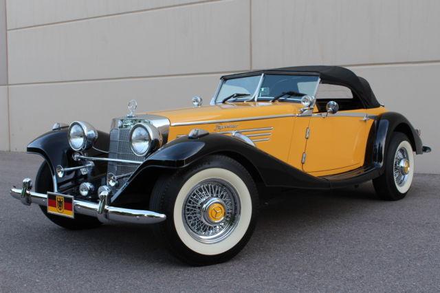 Seller Of Classic Cars 1936 Replica Kit Makes Mercedes