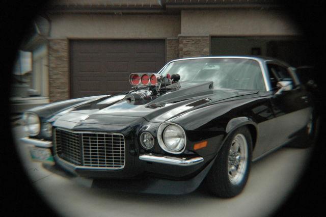 Seller Of Classic Cars 1970 Chevrolet Camaro Black W