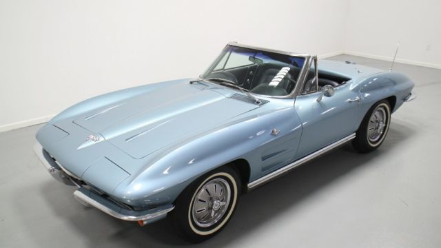 Acura Of Dayton >> Seller of Classic Cars - 1964 Chevrolet Corvette (Silver Blue Code 912/Daytona Blue code 490BB)