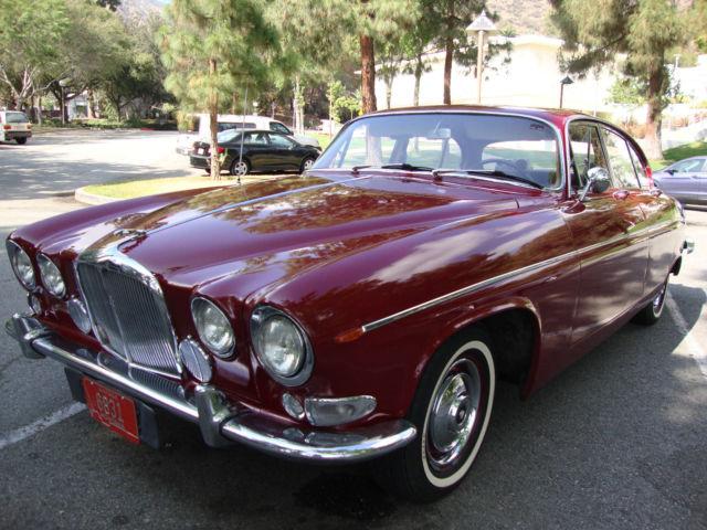 Seller of Classic Cars - 1967 Jaguar 420 G Saloon ...