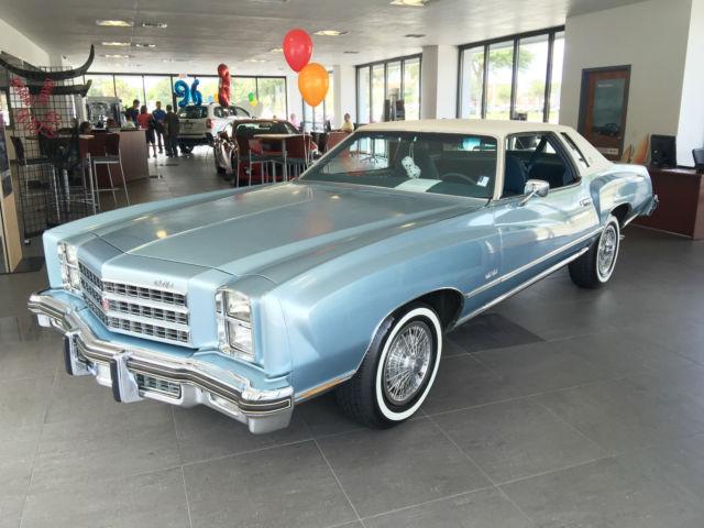 1976 Chevrolet Monte Carlo (Blue/Blue)