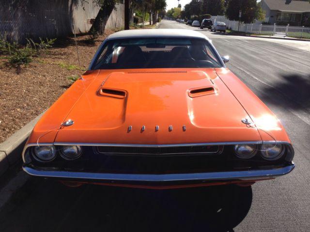 Seller Of Classic Cars 1970 Dodge Challenger Go Mango