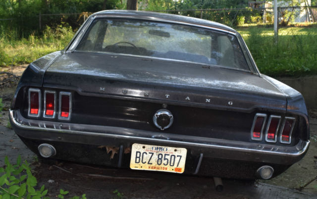 Seller Of Classic Cars 1967 Ford Mustang Black Red