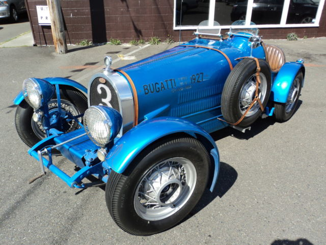 Seller Of Classic Cars 1965 Replica Kit Makes Bugatti