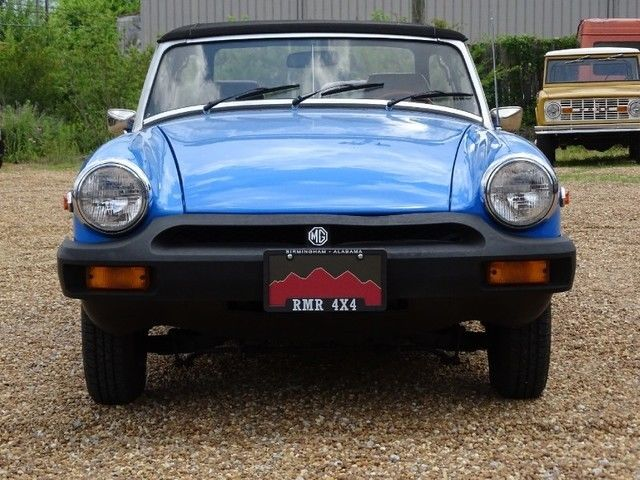1979 MG Midget (Blue/Tan)