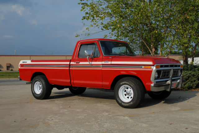 1977 Ford F-150 (Red/Red)