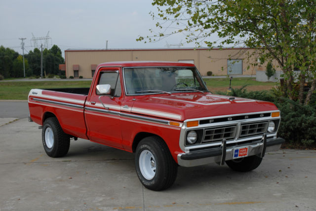 Austin Ford Dealers >> Seller of Classic Cars - 1977 Ford F-150 (Red/Red)