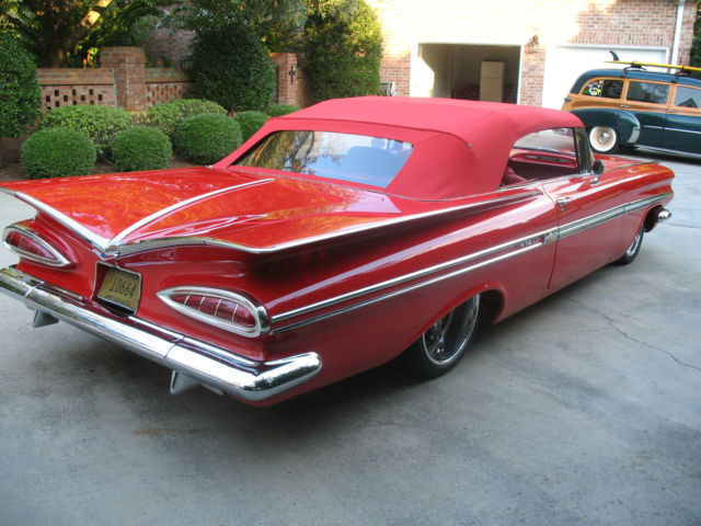 Used Acura For Sale >> Seller of Classic Cars - 1959 Chevrolet Bel Air/150/210 (Red/Red)