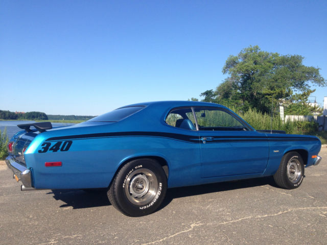 Seller Of Classic Cars 1973 Plymouth Duster BlueBlue