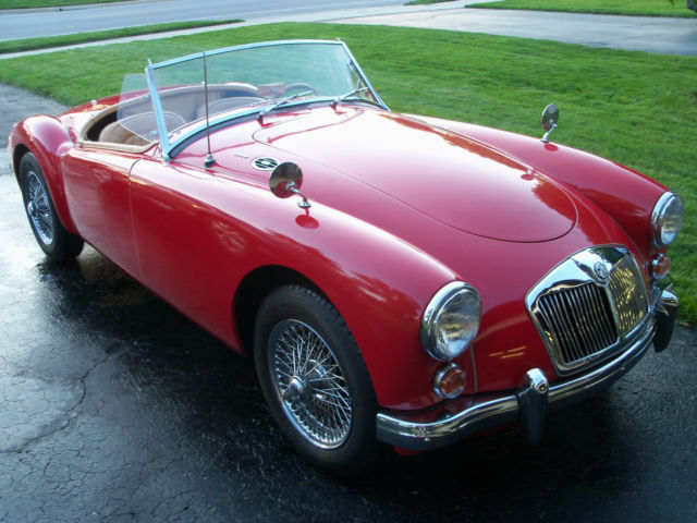 1961 MG MGA (Red/Tan)
