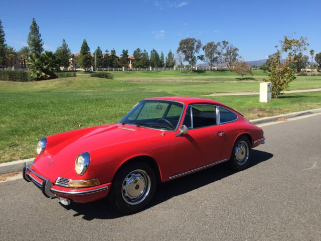 Seller Of Classic Cars 1968 Porsche 911 Polo Red Black