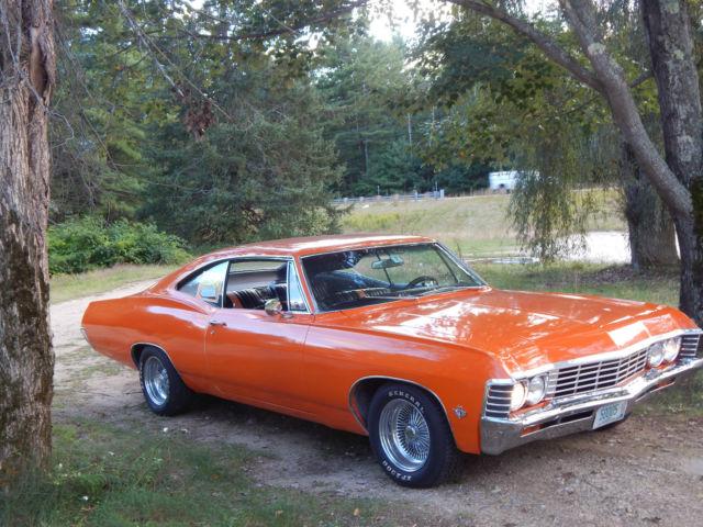 Seller Of Classic Cars 1967 Chevrolet Impala Orange