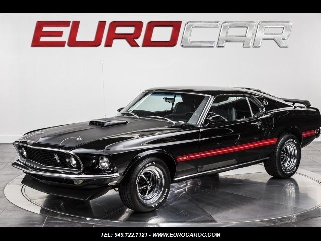 Seller Of Classic Cars 1969 Ford Mustang Black Black