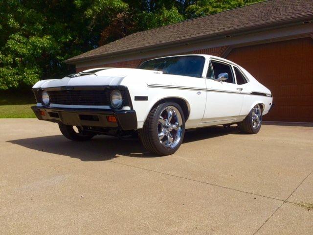 Seller Of Classic Cars 1971 Chevrolet Nova White Black