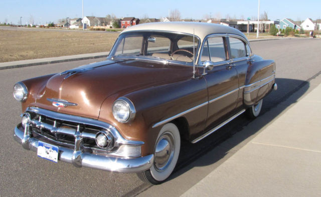 Chevy Dealers Austin Seller of Classic Cars - 1953 Chevrolet Bel Air/150/210 ...