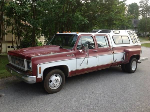 1974 Chevrolet Cheyenne (Burgundy/Tan)