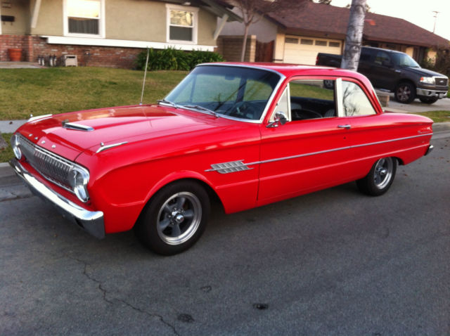Seller Of Classic Cars 1962 Ford Falcon Red Black And