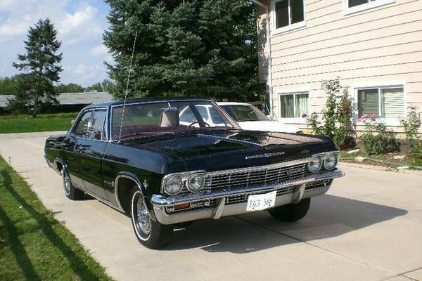 Nada Classic Cars >> Seller Of Classic Cars 1965 Chevrolet Impala Black Red