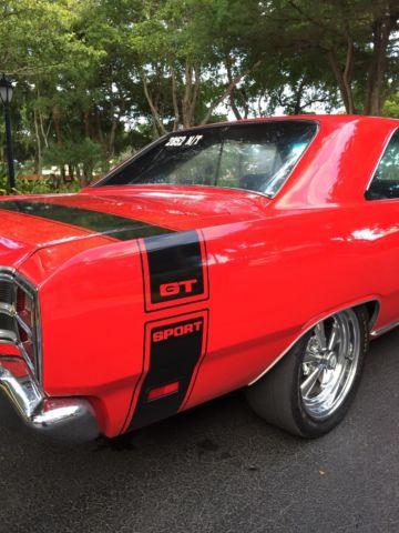 Seller of Classic Cars - 1969 Dodge Dart (Red/Black)