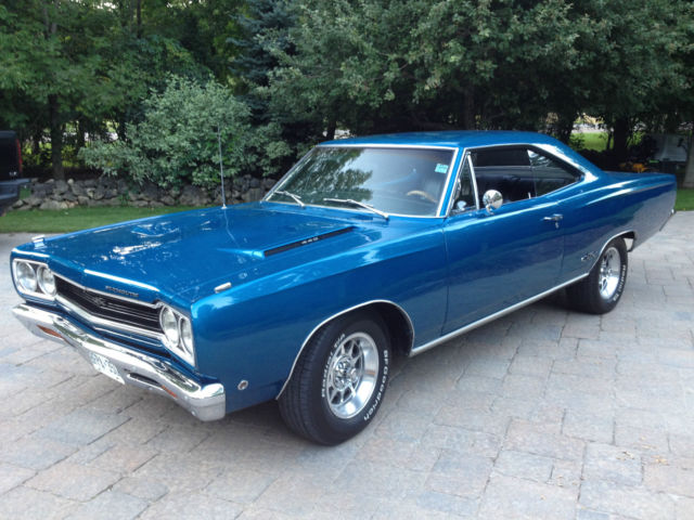 1968 Plymouth Gtx Bright Blue Metallic Original Color Code Qq1black on dodge engine codes