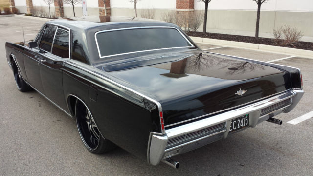seller of classic cars 1966 lincoln continental black. Black Bedroom Furniture Sets. Home Design Ideas