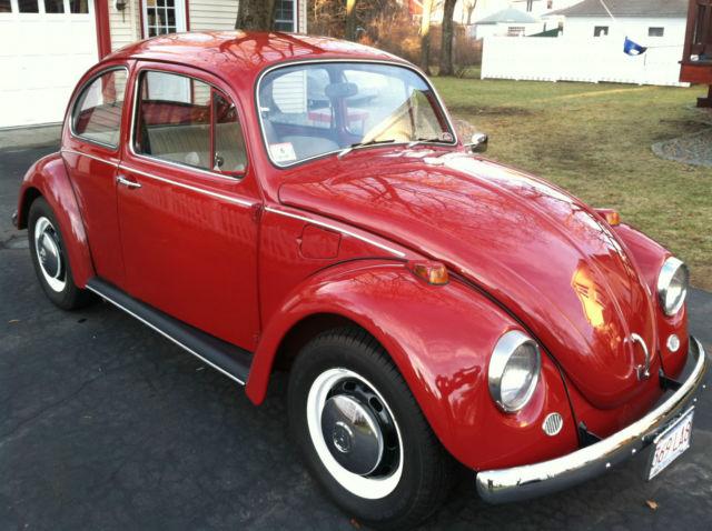 seller  classic cars  volkswagen beetle classic redlight grey panels beige pin