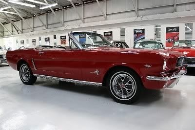 Seller Of Classic Cars 1964 Ford Mustang Red Light Beige Pony Interior