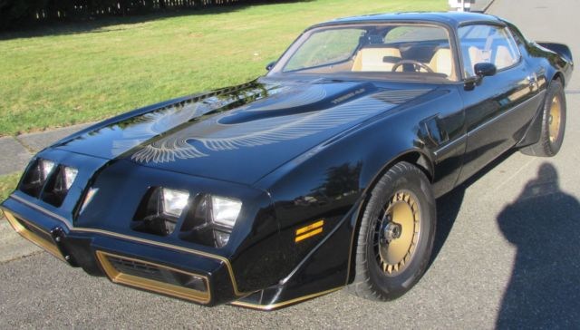 1981 Pontiac Trans Am (Black/Tan)