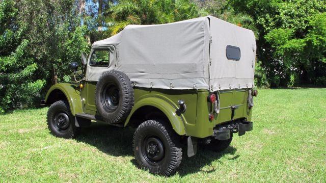 Seller of Classic Cars - 1971 GAZ-69 UAZ-69 (Green/Gray)
